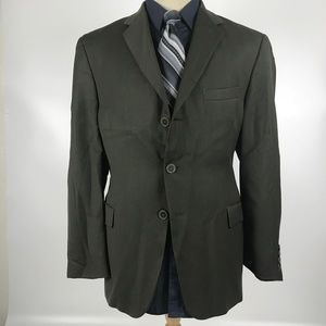 Concepts by Claiborne 44S Olive Wool Blazer